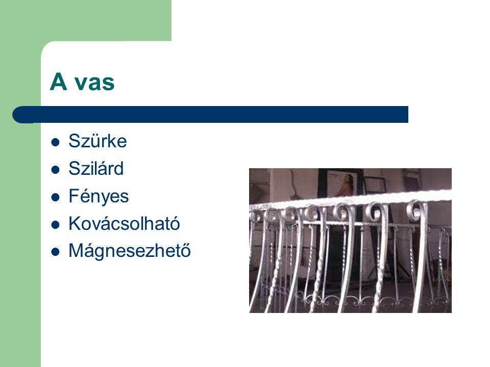 A vas Szürke Szilárd Fényes Kovácsolható Mágnesezhető