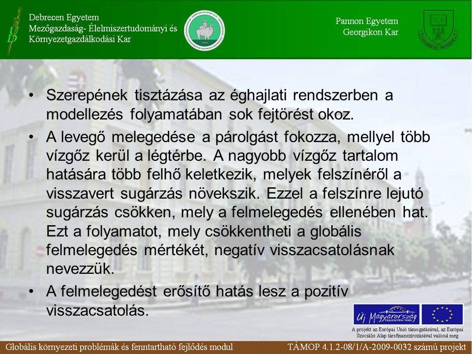 100. ábra A légkört hűtő aeroszolok forrásai www.geology.iastate.edu/.../forcing/text.html