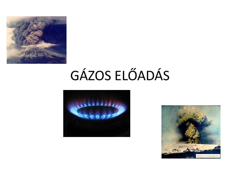 Ideális gáz Mint minden test a gáz is részecskék (atomok, ionok, molekulák) összessége.