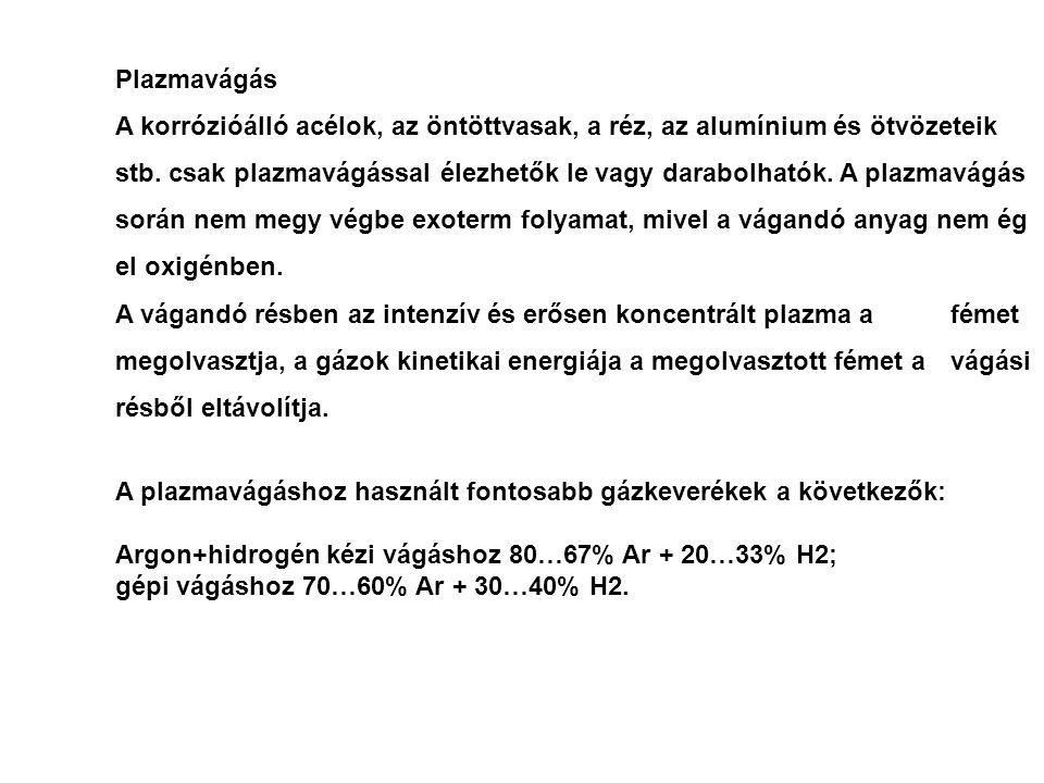 Lángvágás eszközei berendezései: a)injektoros vágópisztoly; b) injektoros vágó-kiegészítő; c) fejkeveréses vágópisztoly; d) fejkeveréses vágó-kiegészítő b) 1 hevítő-vágó fúvóka; 2 fejrész; 3 keverőcső; 4 injektor; 5 vágóoxigén cső; 6 szelepház; 7 hevítőoxigén-szelep; 8 éghetőgáz-szelep; 9 vágóoxigén-szelep; 10 markolat; 11 oldható tömlőcsatlakozó oxigénhez; 12 oldható tömlőcsatlakozó éghetőgázhoz; 13 hevítőoxigén-cső; 14 éghetőgázcső; I5 csatlakozó a markolathoz