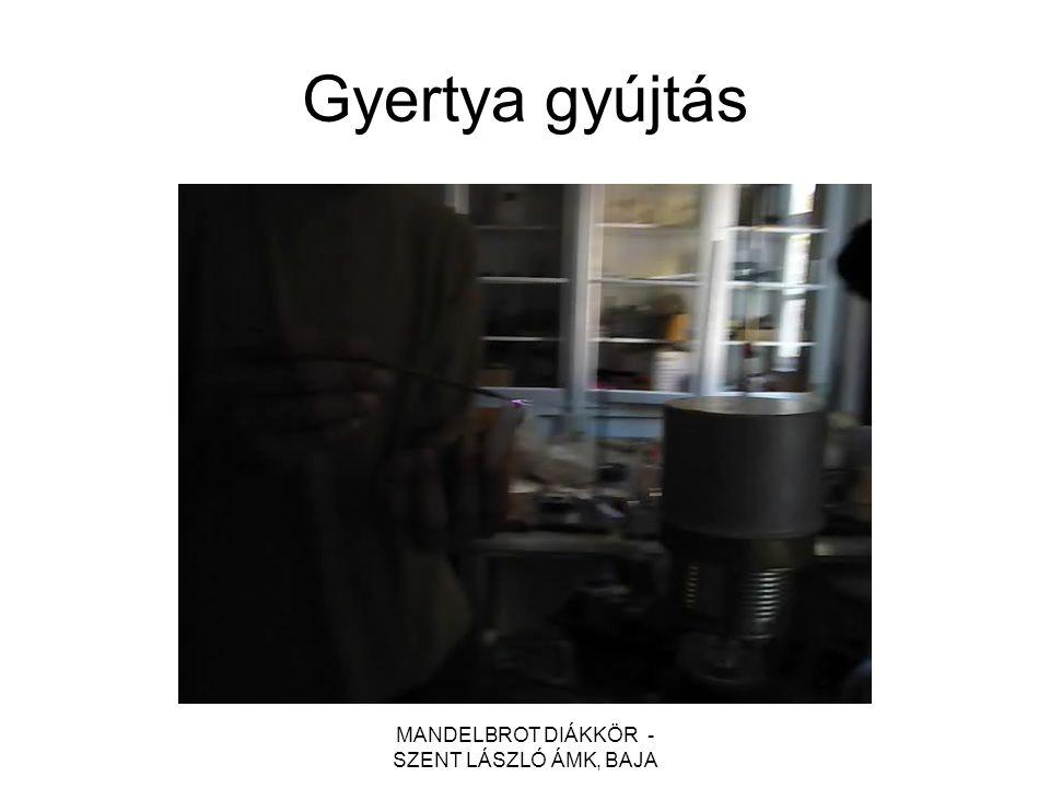 MANDELBROT DIÁKKÖR - SZENT LÁSZLÓ ÁMK, BAJA Gyertya gyújtás