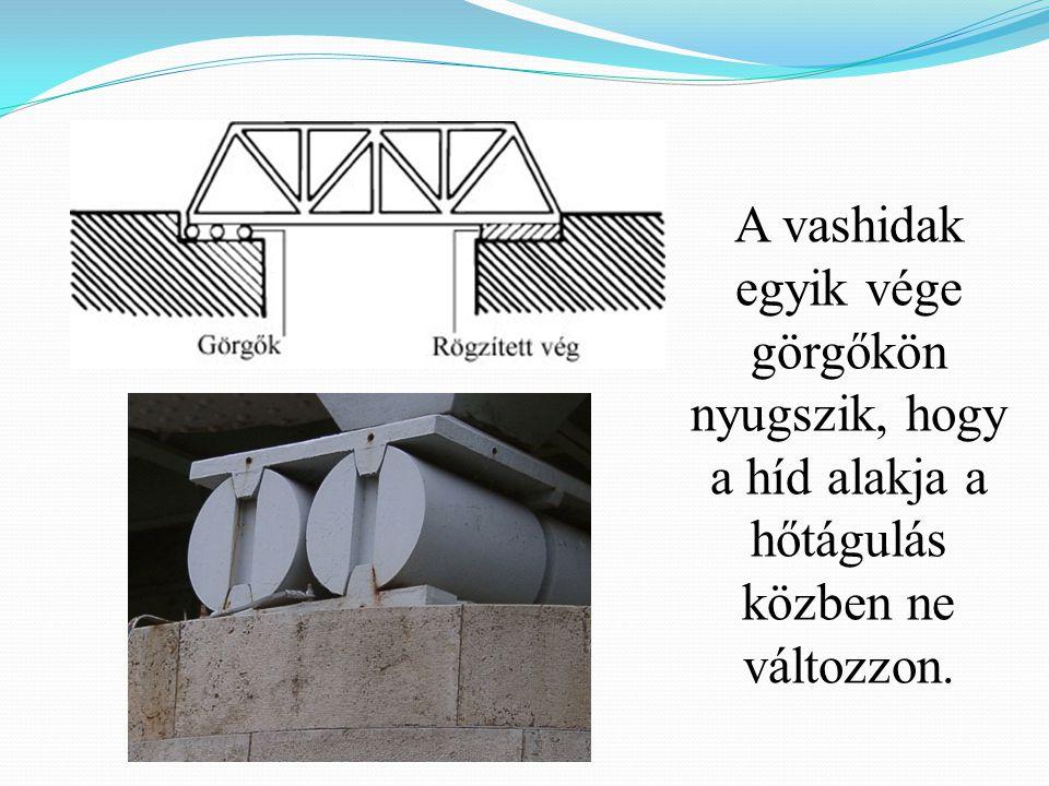 Gyakran figyelhetünk meg fésűszerű illesztéseket hidak egymással találkozó szerkezeti elemei között.