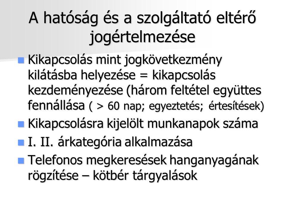 Vízközmű szolgáltatás Új, pontosabb szabályozás 58/2013.