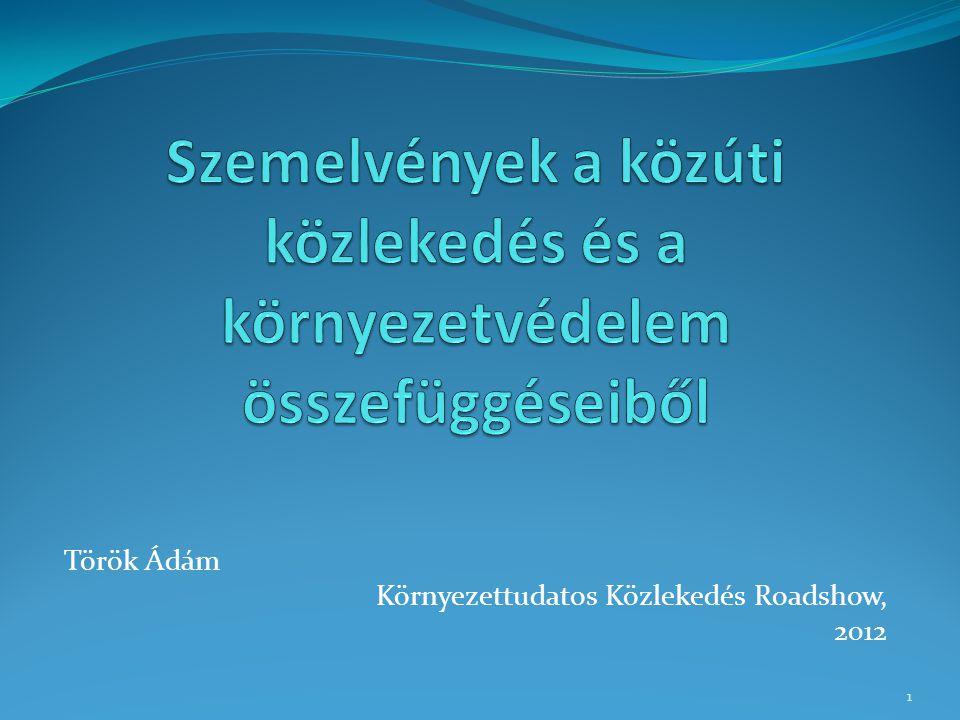 Török Ádám Környezettudatos Közlekedés Roadshow, 2012 1