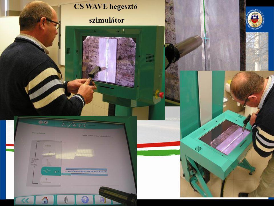 CS WAVE hegesztő szimulátor