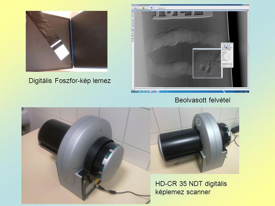Digitális Foszfor-kép lemez HD-CR 35 NDT digitális képlemez scanner Beolvasott felvétel