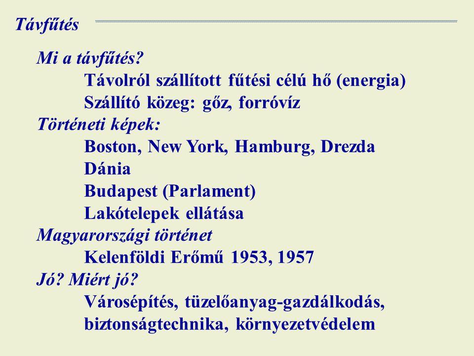 Hőár rendszer Alapdíj – állandó költségeket fedezi Hődíj – változó (tüzelőanyag) költségeket fedezi Budapesten vannak az egyik legmagasabb tarifák.