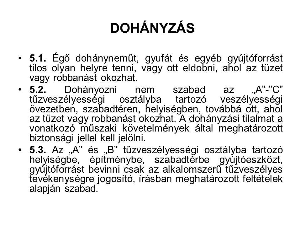 DOHÁNYZÁS 5.1.