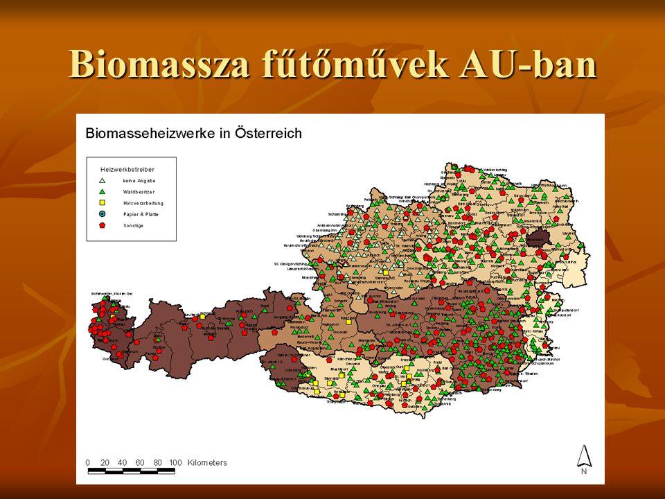Biomassza fűtőművek AU-ban