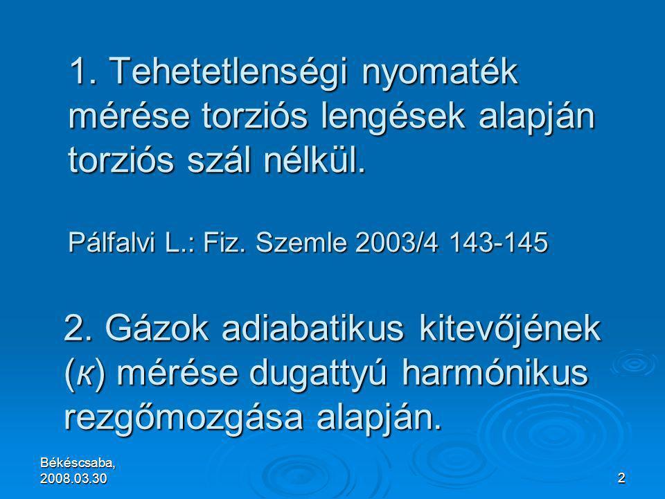Békéscsaba, 2008.03.302 1.