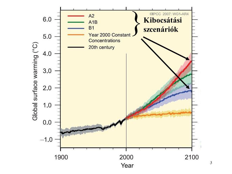 14 Alkalmazkodás Külön téma a klímaváltozáshoz való adaptáció kérdése a fejlődő és a fejlett világban Az éghajlat mindig is változott, a múltban, a jelenben és a jövőben is változni fog Nagy valószínűséggel azonban nem rohamos melegedésre, hanem fluktuációra kell számítani Ehhez a társadalomnak és a technológiáknak idomulniuk célszerű De hogy pontosan mihez, abban stratégiai jelentősége lehet a vonatkozó eredmények pontos ismeretének