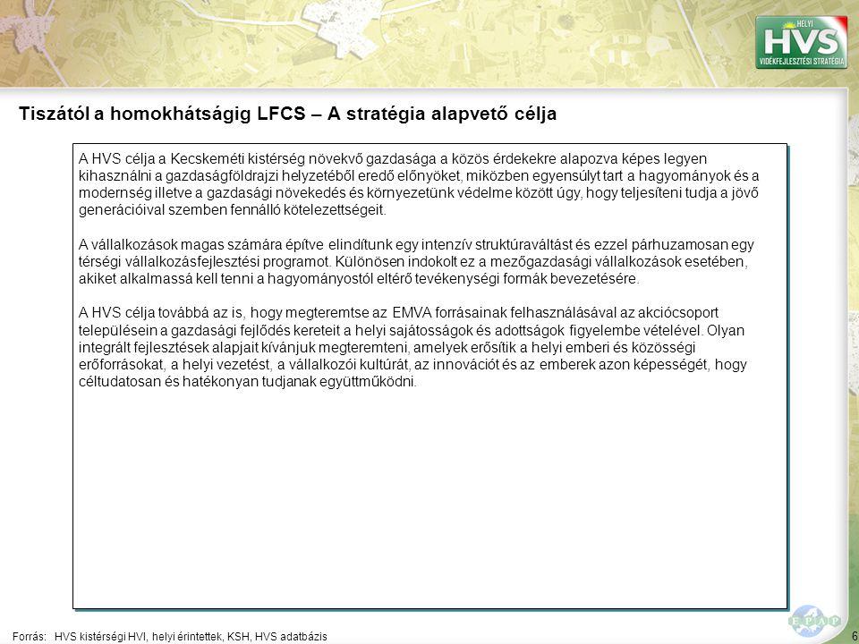 """47 Kijelölt fő fejlesztési prioritások a térségben 1/2 A térségben 10 db fő fejlesztési prioritás került kijelölésre, amelyekhez összesen 28 db fejlesztési intézkedés tartozik Forrás:HVS kistérségi HVI, helyi érintettek, HVS adatbázis ▪""""A mezőgazdaság helyi szintű fejlesztése ▪""""Helyi vállalkozások fejlesztése ▪""""Helyi életminőség fejlesztése ▪""""Helyi közösségi infrastruktúra fejlesztése ▪""""Társadalmi tőke erősítése Fő fejlesztési prioritás ▪""""Helyi bio- és megújuló-energia ágazat fejlesztése ▪""""Helyi turizmus ágazat fejlesztése ▪""""Helyi örökségek megőrzése, fejlesztése 47 4 db 5 db 4 db 1 db 3 db 900,000 858,385 391,178 300,000 258,000 Összes allokált forrás (EUR) Intézkedé- sek száma 1 db 4 db 3 db 200,000 180,000 165,000"""