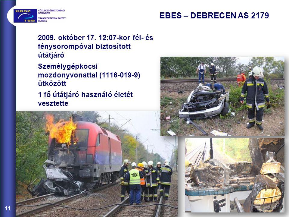 11 EBES – DEBRECEN AS 2179 2009.október 17.