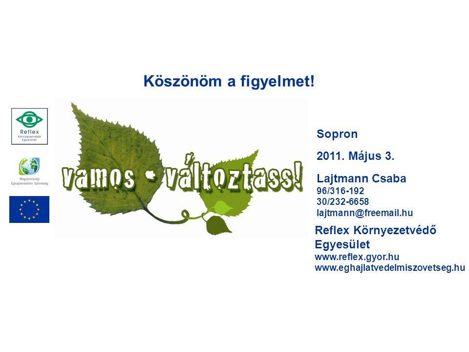 Sopron 2011. Május 3.
