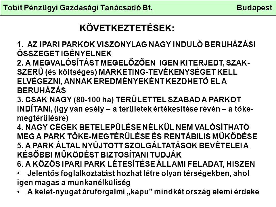 Tobit Pénzügyi Gazdasági Tanácsadó Bt.