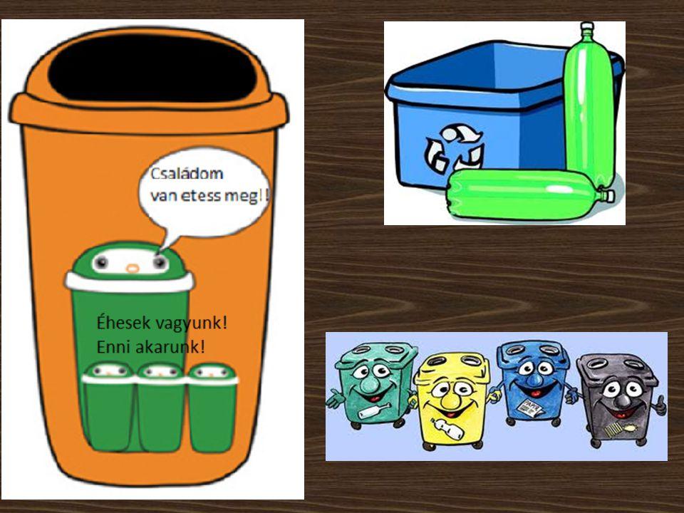 A hulladékokat először lemérik hídmérleggel.Majd a komposztálóba, vagy a válogatóba kerül.