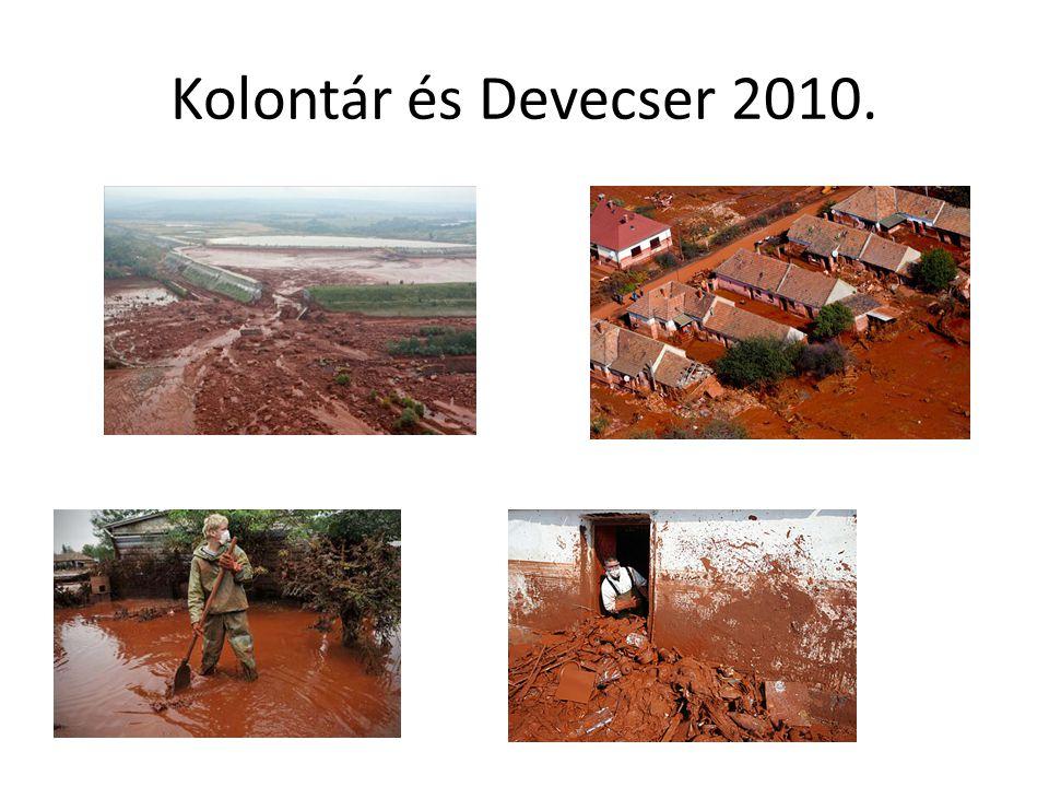 Kolontár és Devecser 2010.