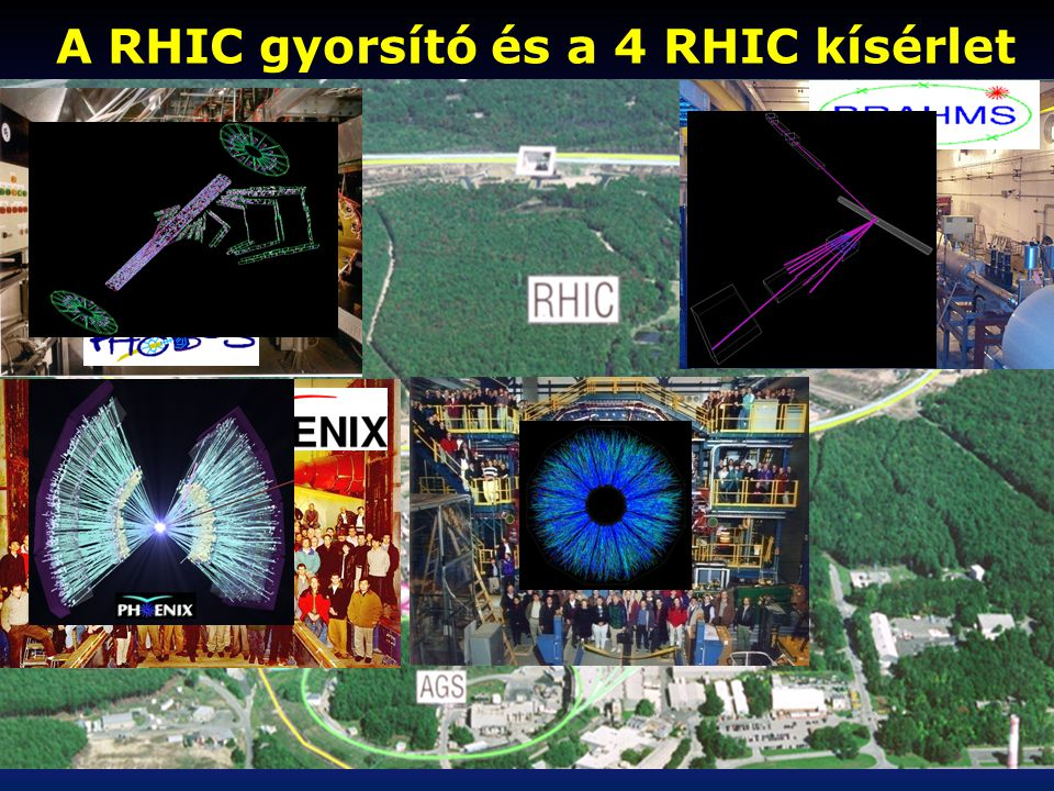 A RHIC gyorsító és a 4 RHIC kísérlet STAR
