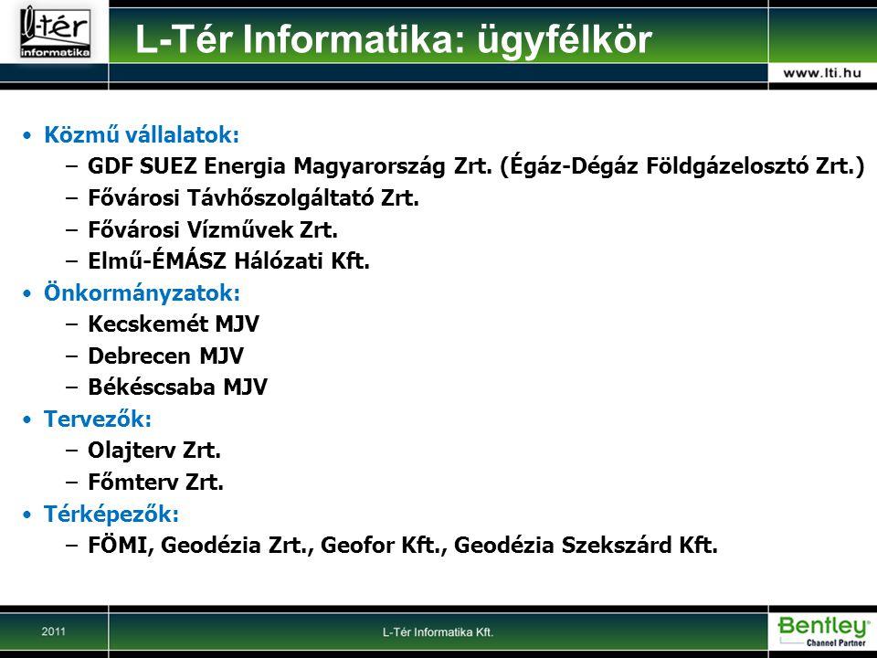 Közmű vállalatok: –GDF SUEZ Energia Magyarország Zrt.