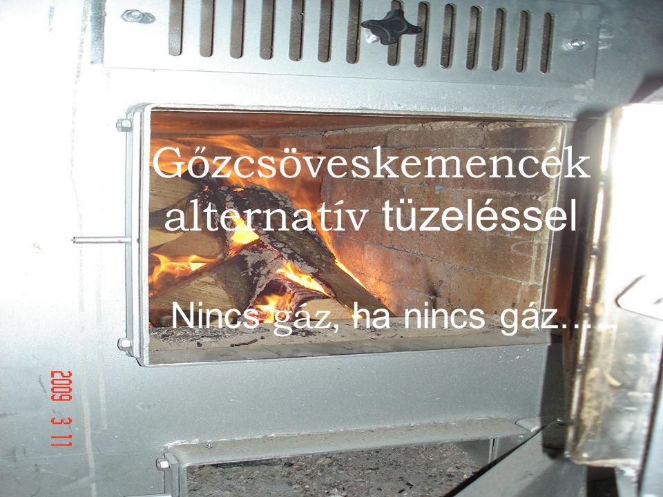 Gőzcsöveskemencék alternatív tüzeléssel Nincs gáz, ha nincs gáz….