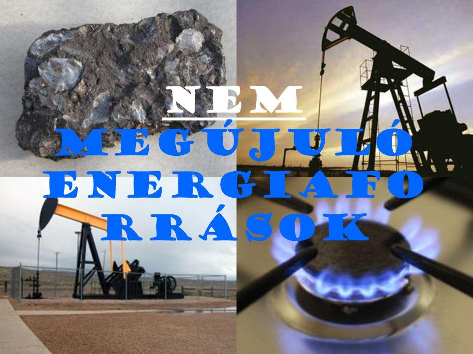Másnéven: FOSSZILIS ENERGIAHORDOZÓK M iután kibányásztuk a kőolajat, a földgázt és a szenet csak utána hasznosíthatjuk energiájukat.