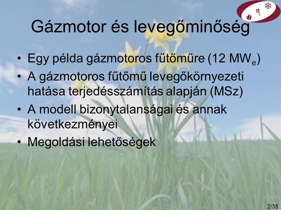 32/35 Széndioxid emisszió különböző energetikai szcenáriók esetén