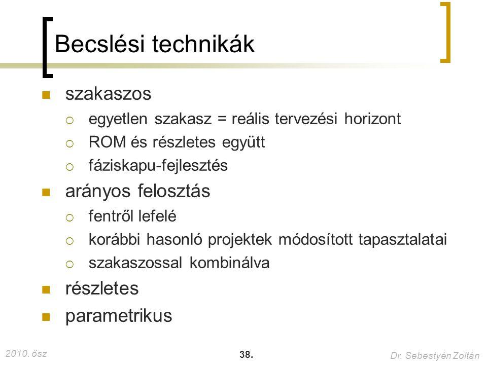 2010.ősz Dr. Sebestyén Zoltán 38.