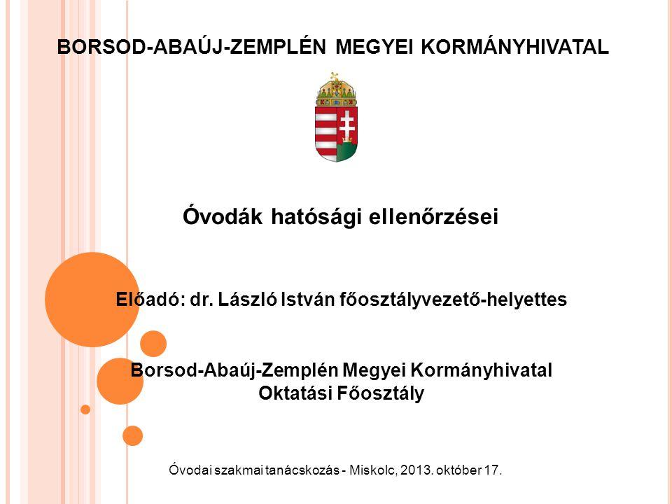 J OGSZABÁLYI FELHATALMAZÁSOK A nemzeti köznevelésről szóló 2011.