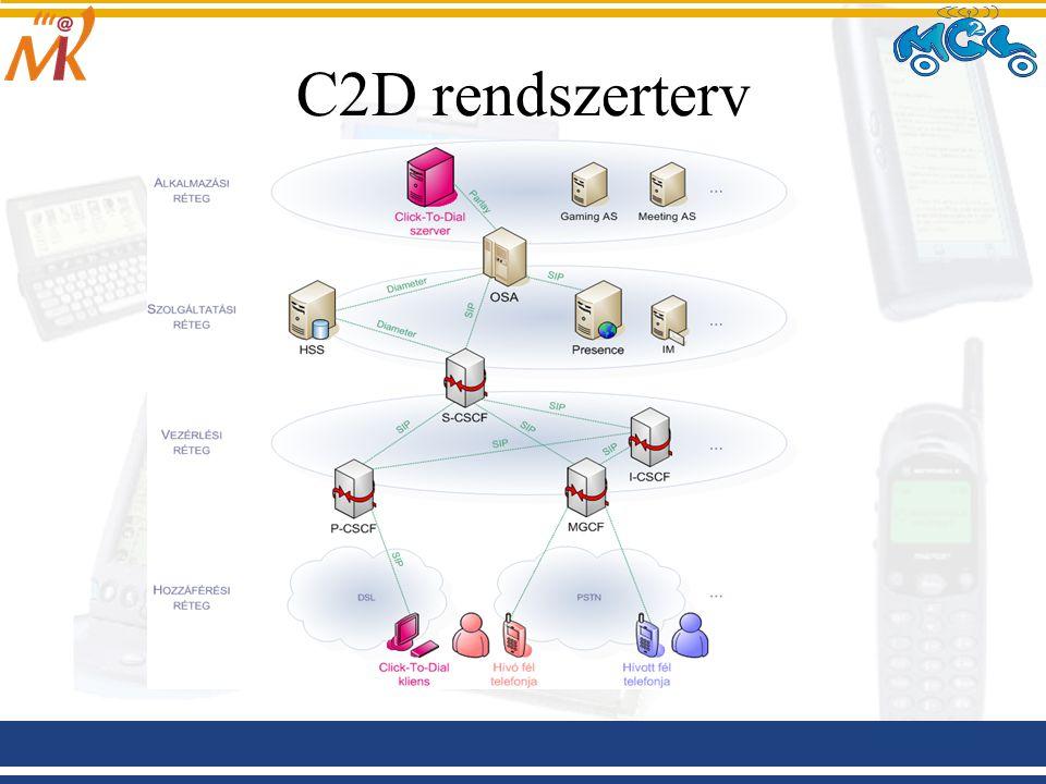 C2D rendszerterv