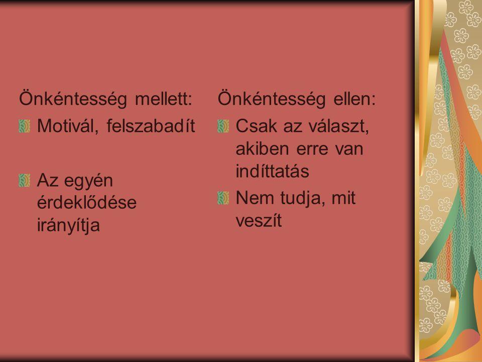 Előzmények Jogi és programbeli előzmények: Jogi előzmény: 2005.