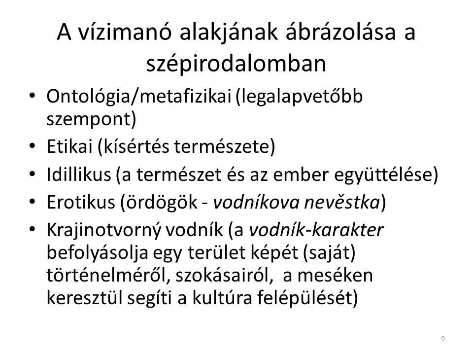 Összehasonlítás: a cseh és a szlovén romantikában betöltött szerep 1.