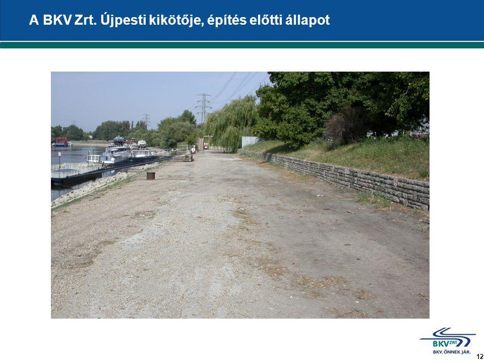 12 A BKV Zrt. Újpesti kikötője, építés előtti állapot