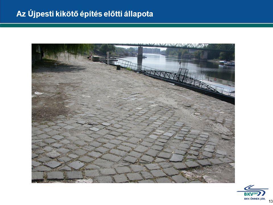 13 Az Újpesti kikötő építés előtti állapota