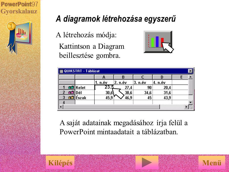 A profi megjelenés kialakítása Válassza ki azt a grafikai elemet, amellyel kapcsolatban tájékoztatásra van szüksége.     Diagramok ClipArt Folyama