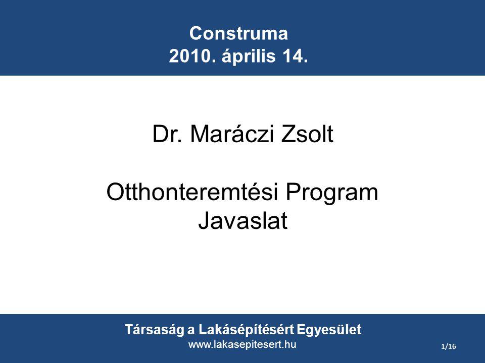 Construma 2010. április 14. Dr.