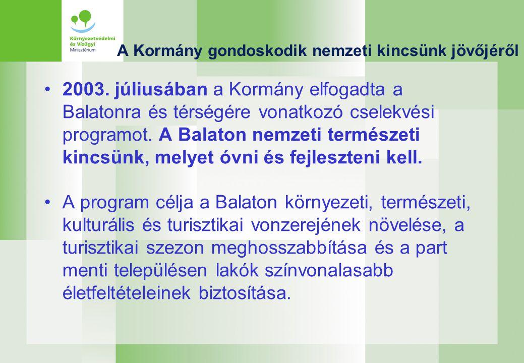A Kormány gondoskodik nemzeti kincsünk jövőjéről 2003.