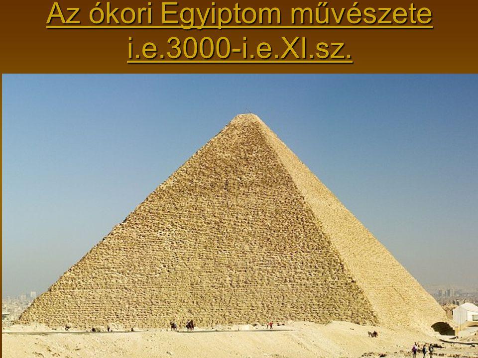 Az ókori Egyiptom művészete i.e.3000-i.e.XI.sz.