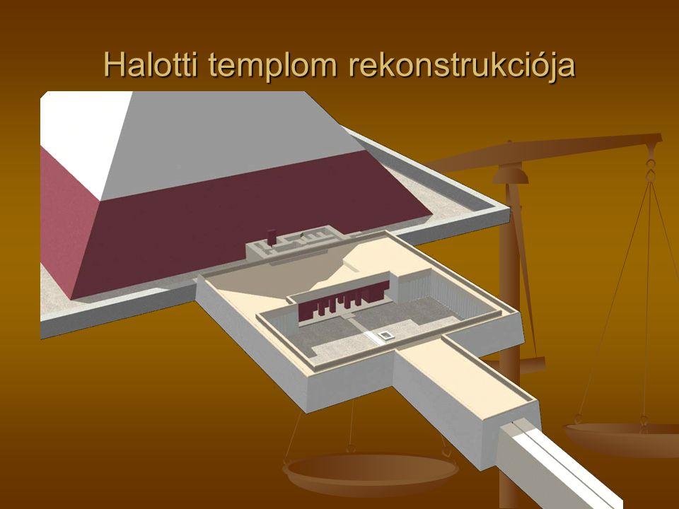 Halotti templom rekonstrukciója