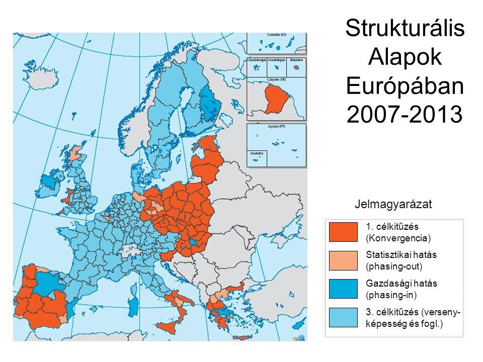 Jelmagyarázat Strukturális Alapok Európában 2007-2013 1.