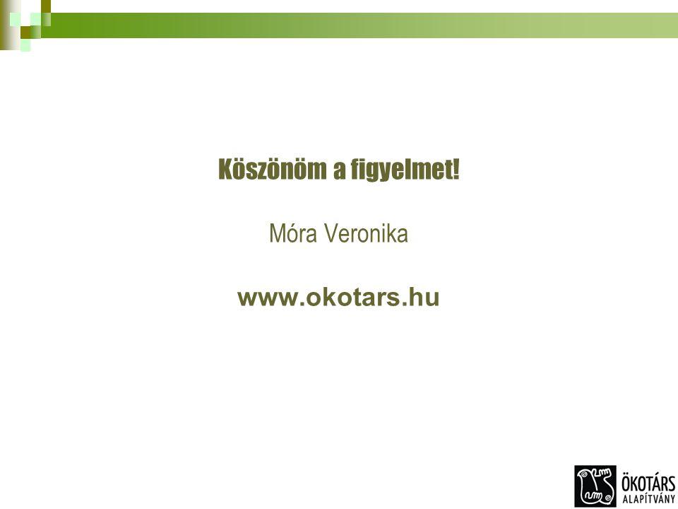 Köszönöm a figyelmet! Móra Veronika www.okotars.hu