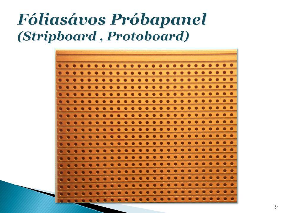  Méret optimalizálása  Huzalozás vezeték szélessége: ellenállása vonalvezetés: zavarjelek, kapacitás jelterjedés  Hidegítő kondenzátorok elhelyezése  Zavarvédelem 20