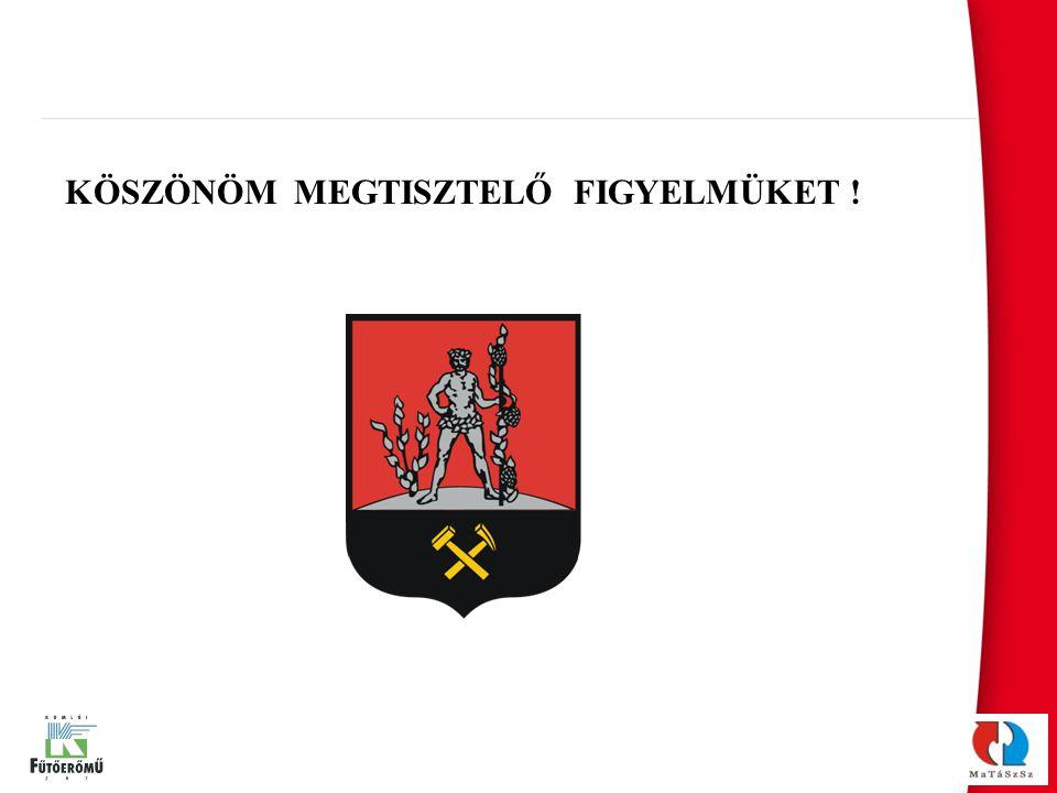 KÖSZÖNÖM MEGTISZTELŐ FIGYELMÜKET !