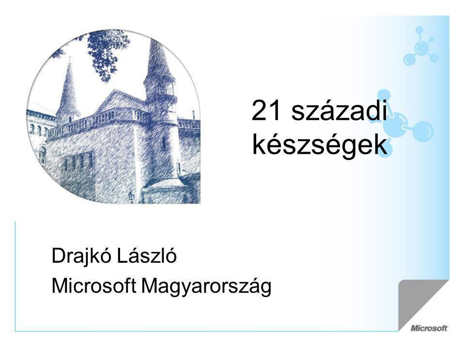 21 századi készségek Drajkó László Microsoft Magyarország