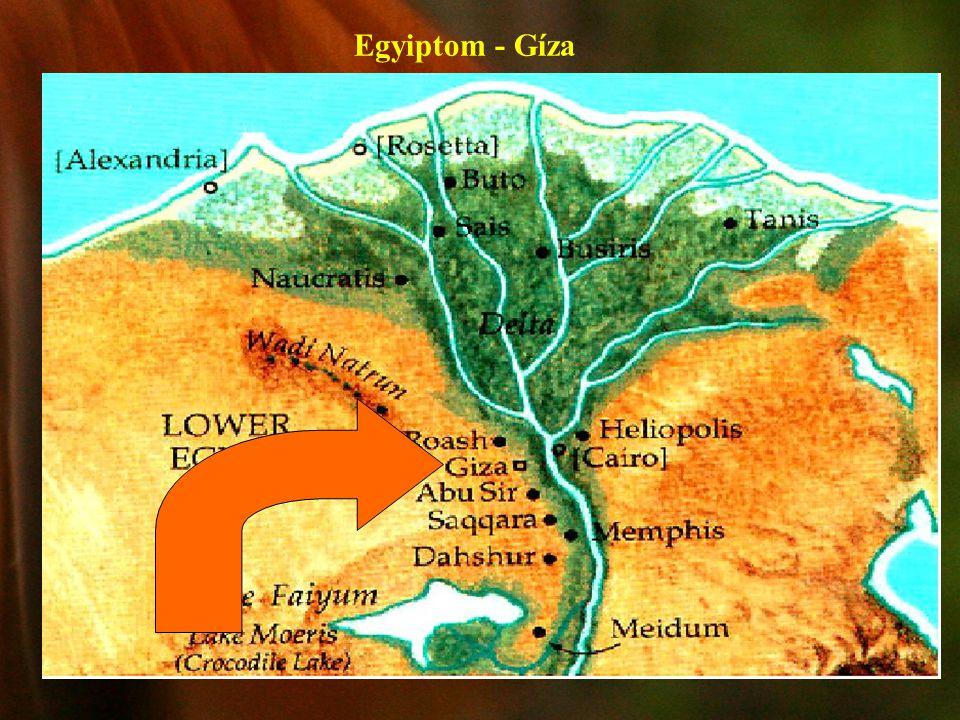 Egyiptom - Gíza