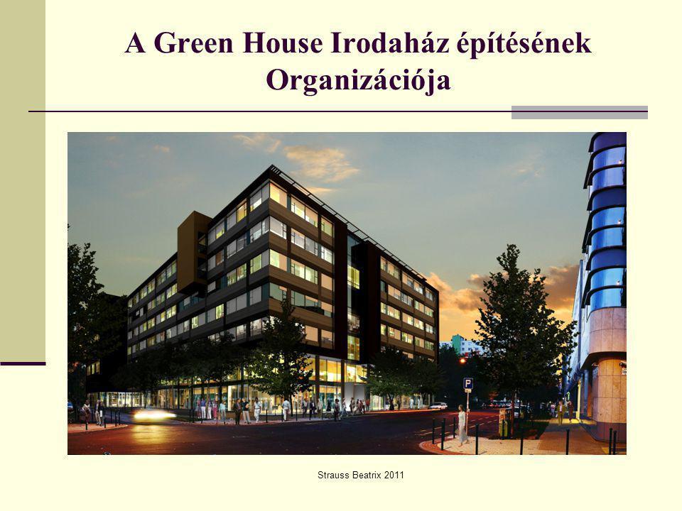 Green House Irodaház Strauss Beatrix 20112 BME Építéskivitelezési Tanszék DIPLOMAMUNKA Az építés helyszíne  Az irodaház Budapest XIII.