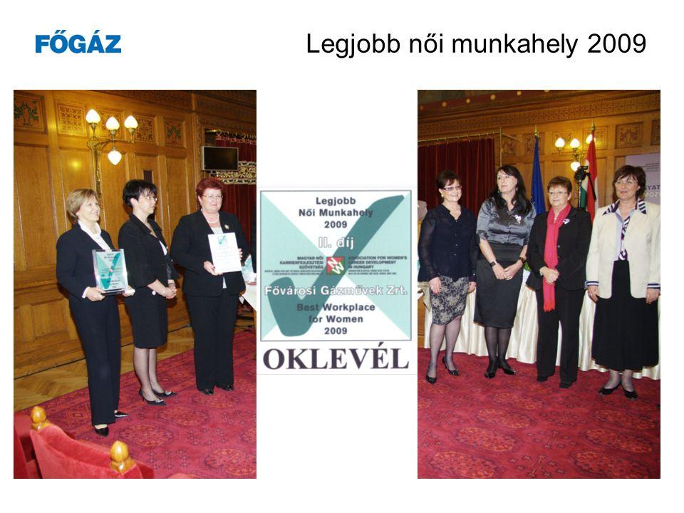 Legjobb női munkahely 2009