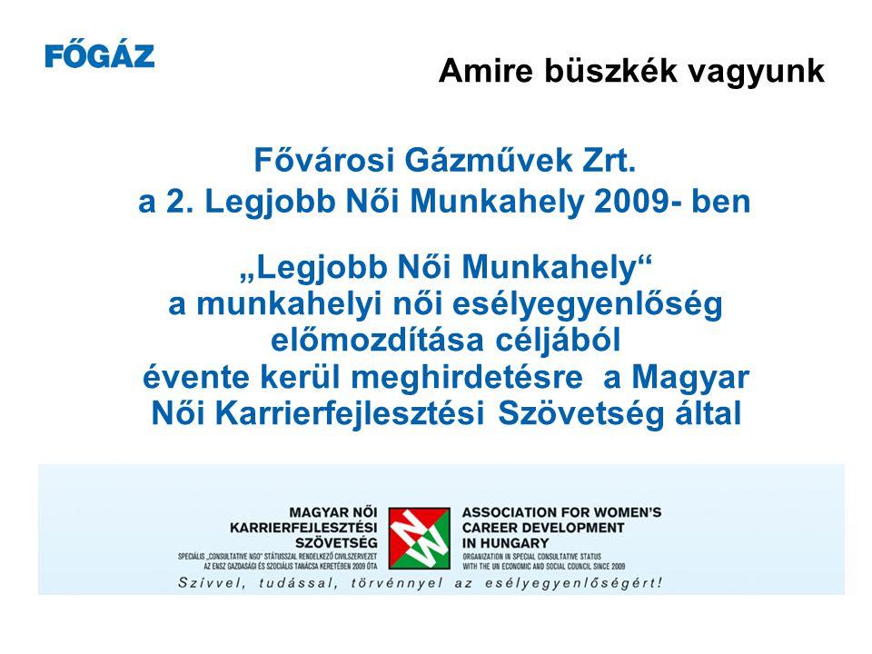 Fővárosi Gázművek Zrt. a 2.