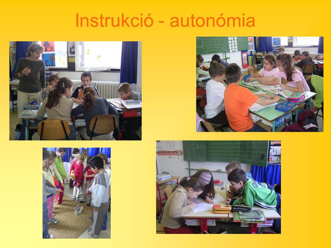 Instrukció - autonómia