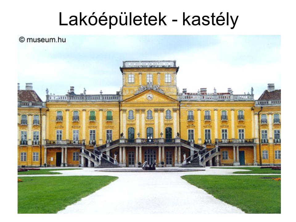 Lakóépületek - kastély