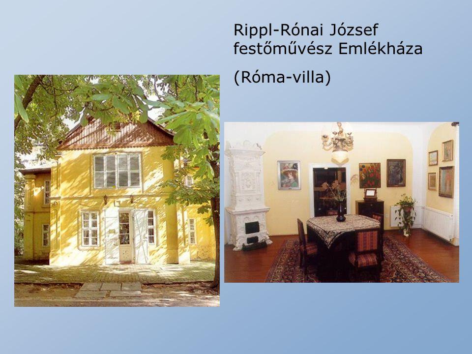 Rippl-Rónai József festőművész Emlékháza (Róma-villa)
